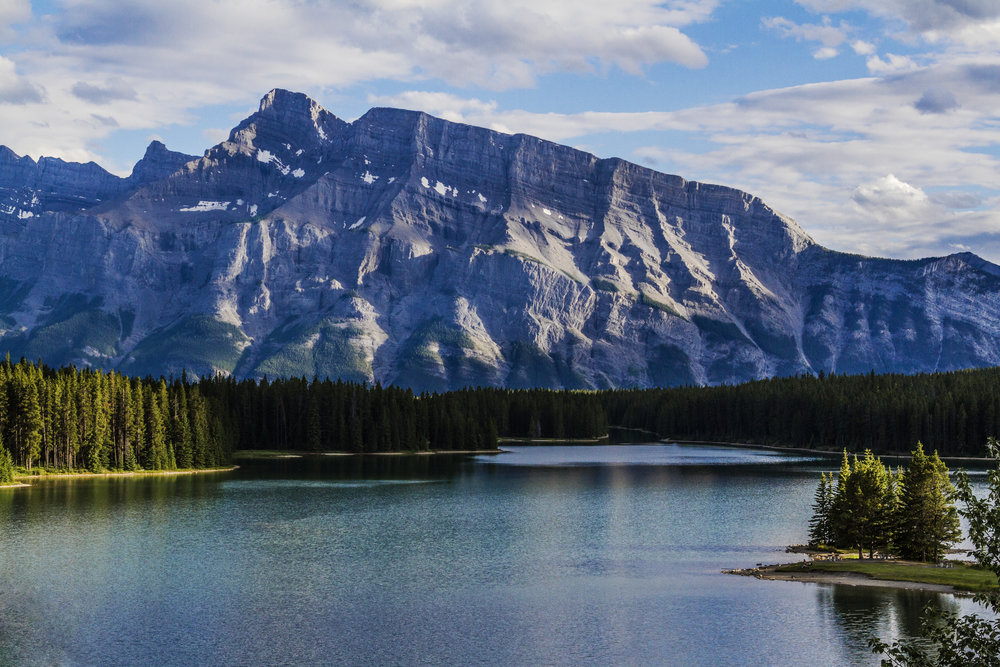 Park Distillery: View of Mt. Rundle Banff National Park