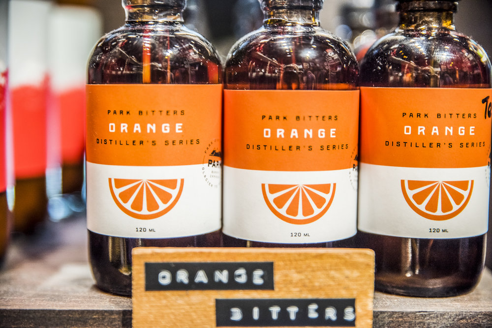 Park Distillery Hand made spirits Orange bitters