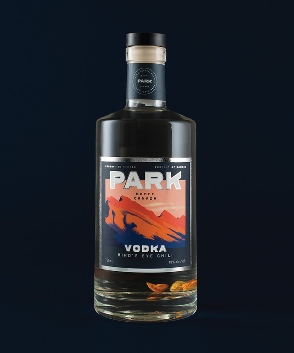 Park Bird's Eye Chili Vodka