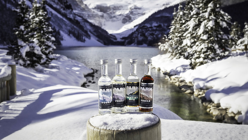 Mini Bottles Lake Louise | Photo Credit: Lindsay Smith