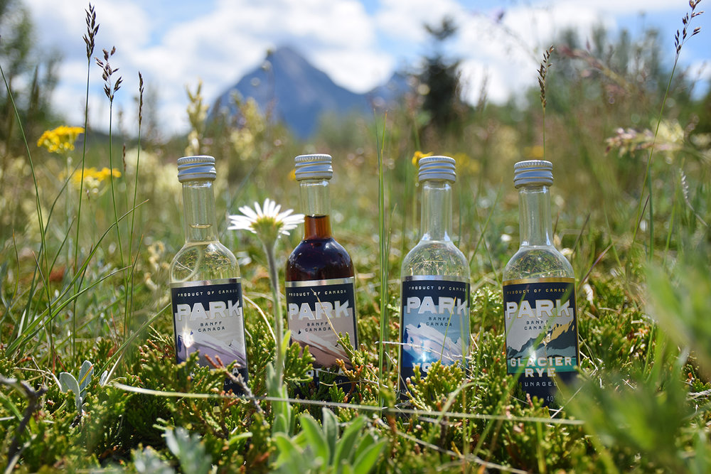 Mini Bottles Summer Field