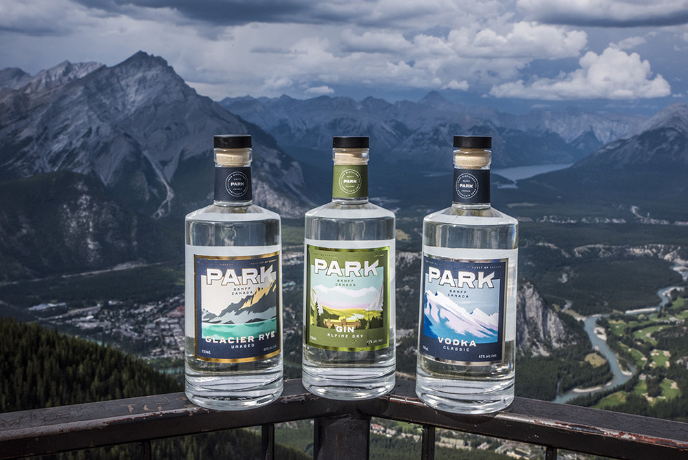 Rye Gin Vodka Sulphur Mtn. | Photo Credit: Anna Robi