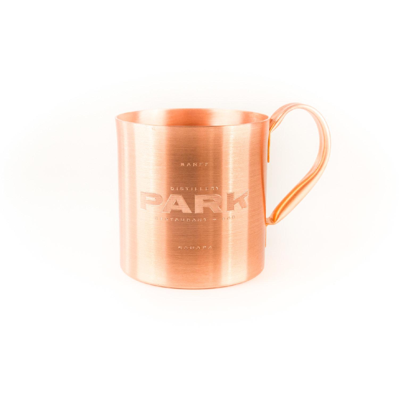 Park Distillery + Restaurant + Bar  Copper Mug
