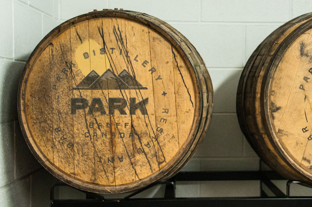 Park Whisky barrels | Photo credit: Anna Robi