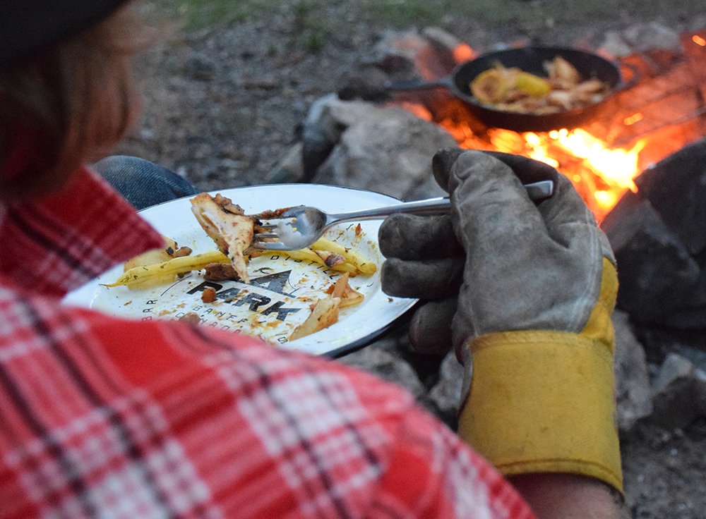 Park Campfire Cooking | Photo Credit: Park Distillery Images