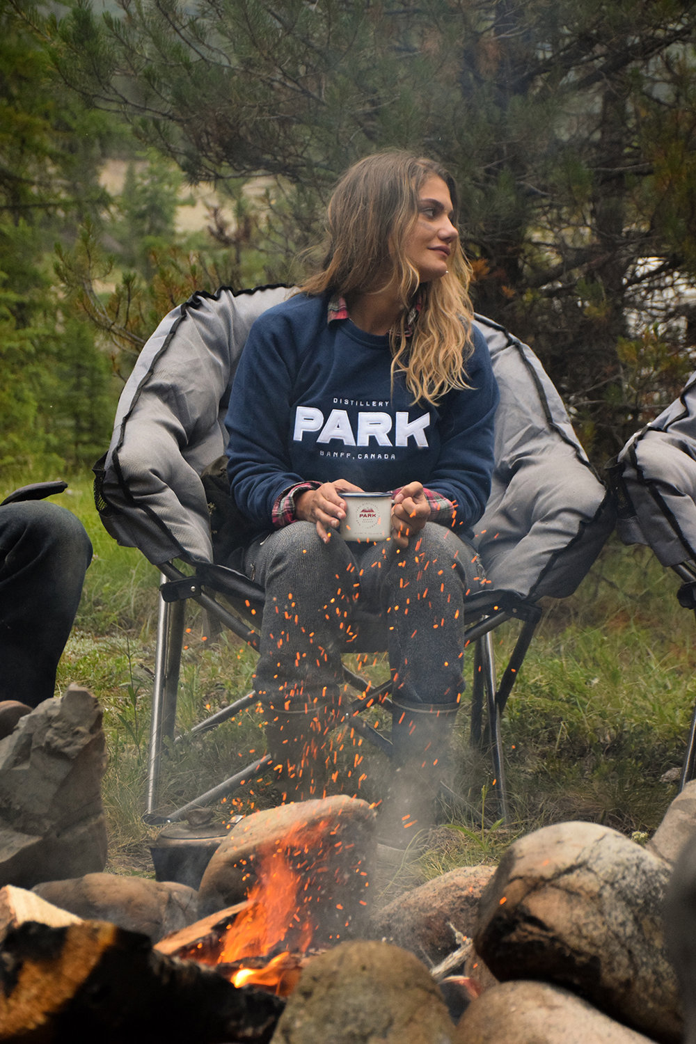 Camp Fire Sweater | Photo Credit: Park Distillery Images