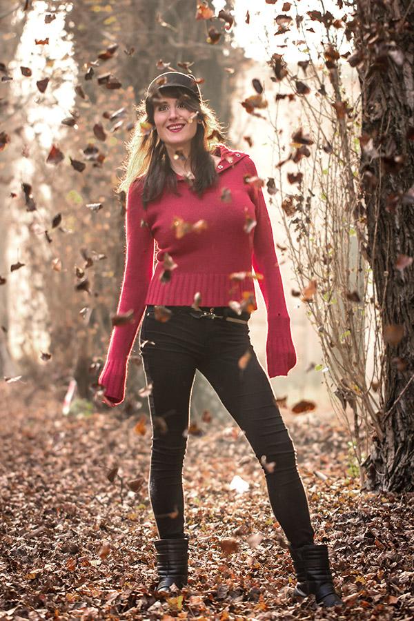 őszi kültéri fotózás