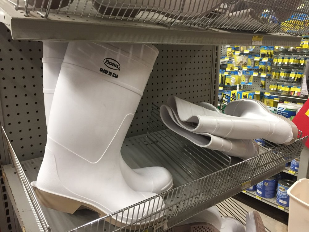 Shrimp Boots