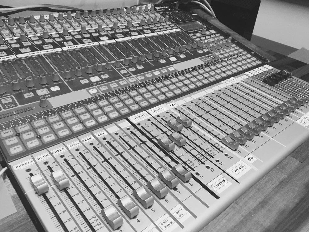 Studio A - The latest digital broadcast technology