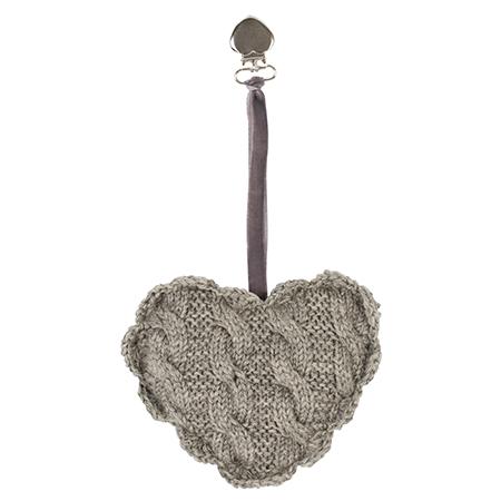 Stroller heart collection:  Grå