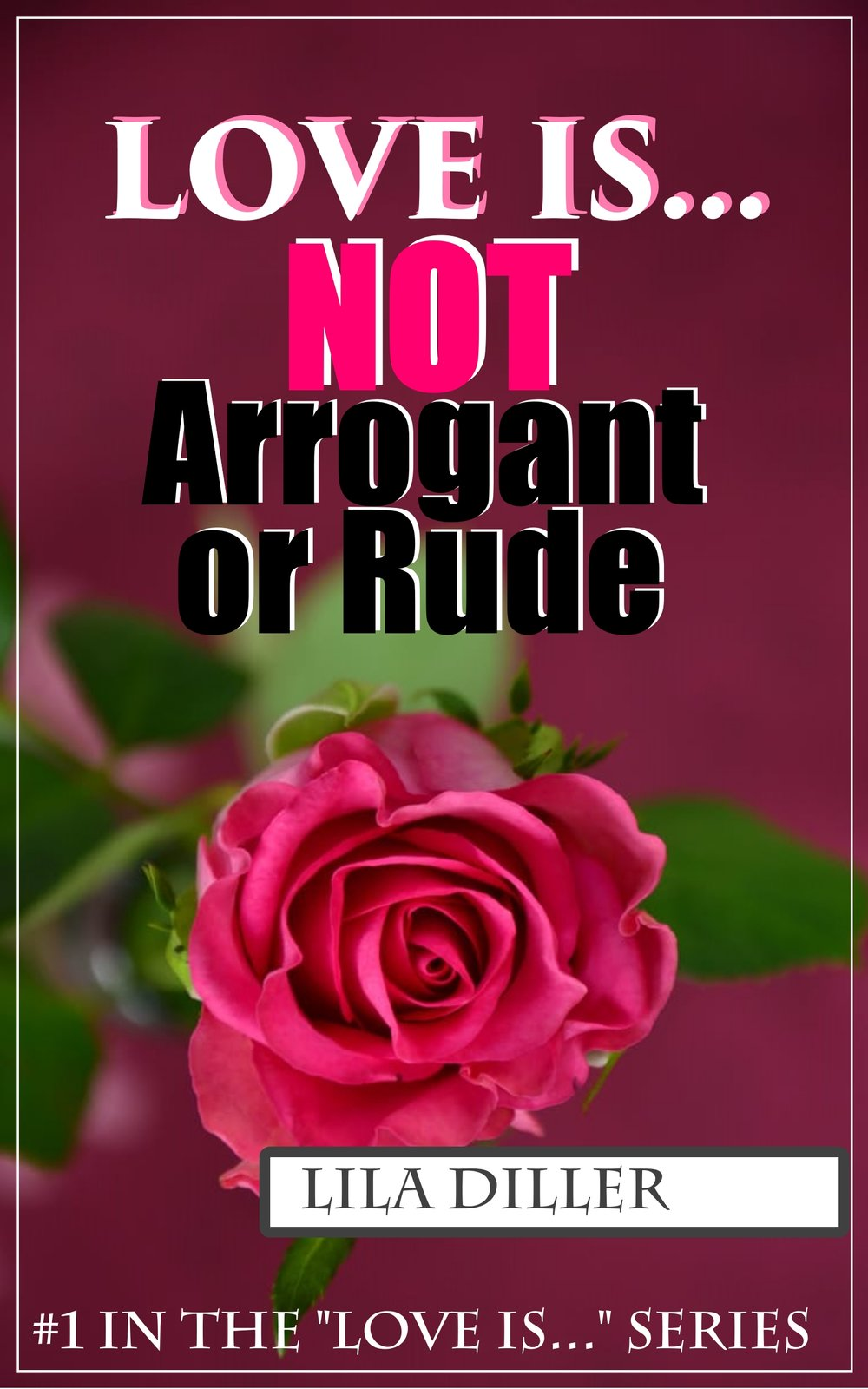 at the end of Love is Not Arrogant or Rude... -