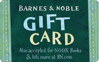 Giveaway  - Barnes & Noble Gift card