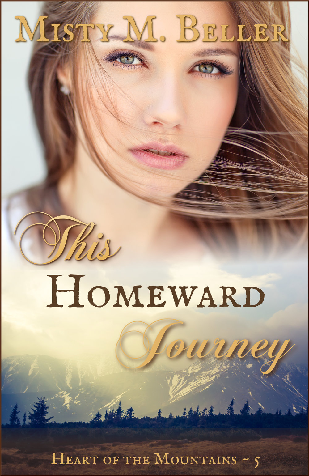 This Homeward Journey by Misty Beller cover.  Buy on Amazon .