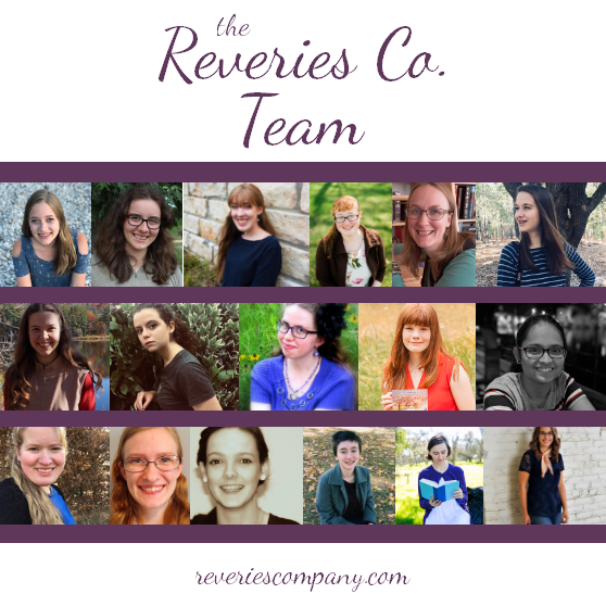 The team of Reverie, Co., a team of authors helping other authors achieve their writing dreams.