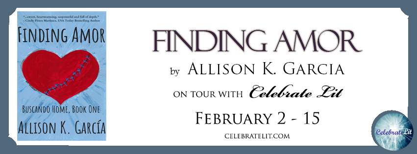 The Finding Amor blog tour with  Celebrate Lit .