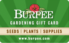 Giveaway for a gift card: Burpee Gardening Gift Card