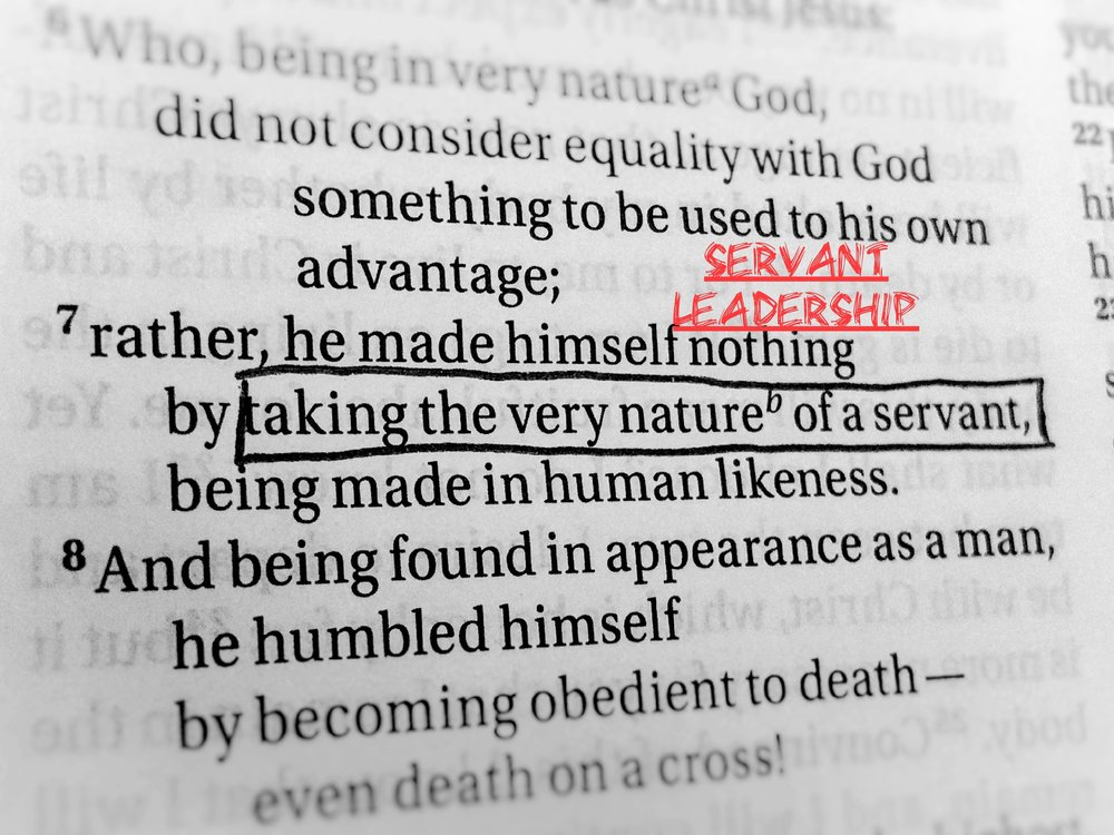 Servant Ledership: What does the Bible have to say about being a Servant Leader -