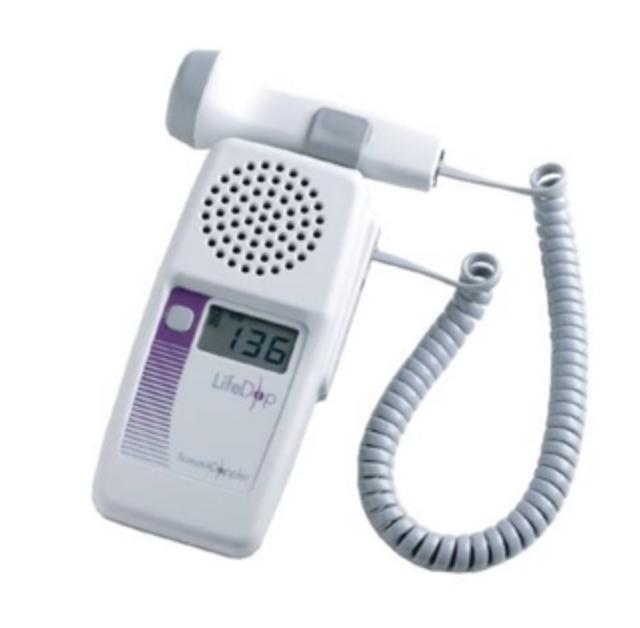 Doppler Unit.....measures fetus blood flow