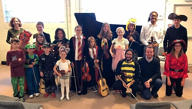 Masquerade Recital a Treat for All! Creativity was the key for our Masquerade Recital! From Bunnies to Bees, Superheroes to SWAT Team Members, all performed with a flair to delight the audience! If you missed it, start thinking now about who YOU will be next year!