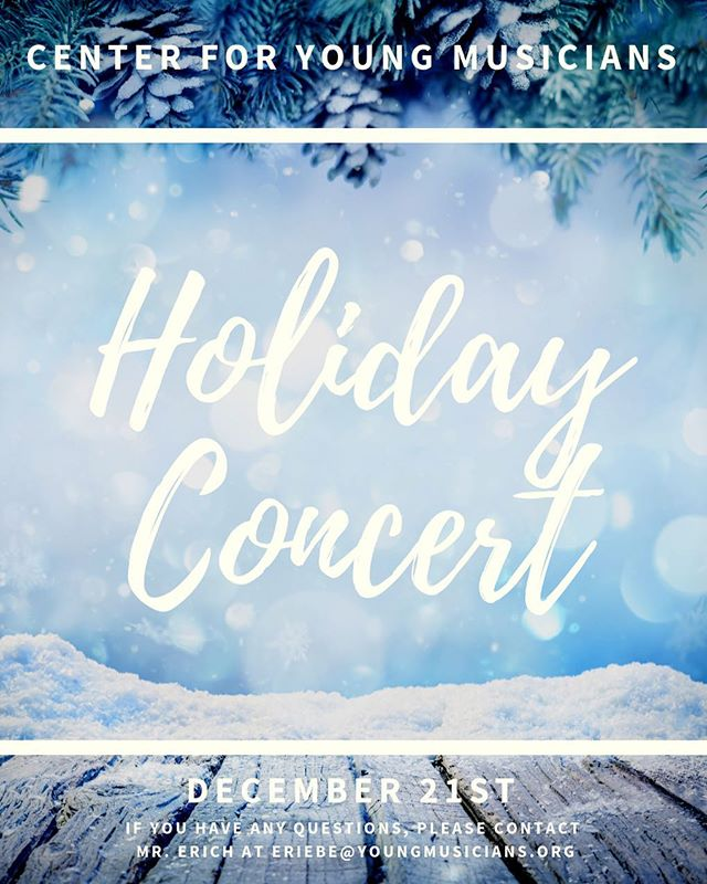 Come spread some holiday cheer at the First Unitarian Church! Enjoy holiday music in a relaxed, concert atmosphere! The performance will take place in the Undercofler Gallery, and is a great way to bring musical experiences into your celebrations!