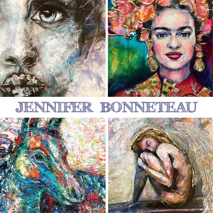 Art is Magic presents the Creative Retreat- Jennifer Bonneteau