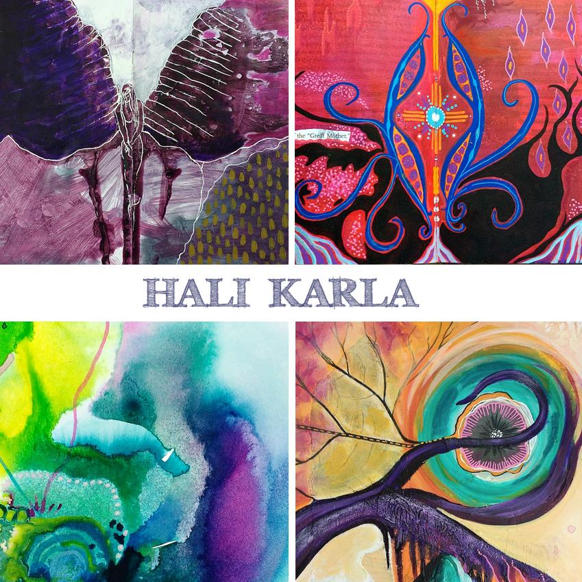 Art is Magic presents the Creative Retreat- Hali Karla