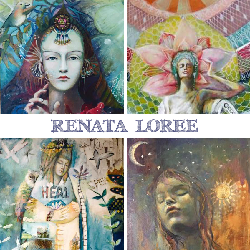 Art is Magic presents the Creative Retreat- Renata Loree