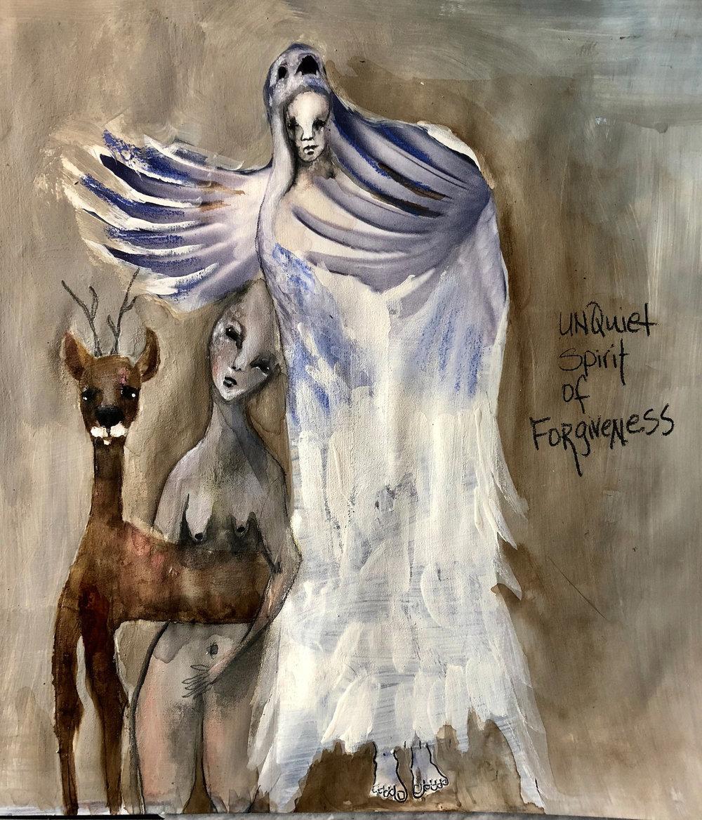 Unquiet Forgiveness Fonda Clark Haight