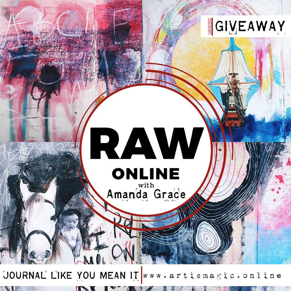Raw with Amanda Grace- aRt Journal Workshop
