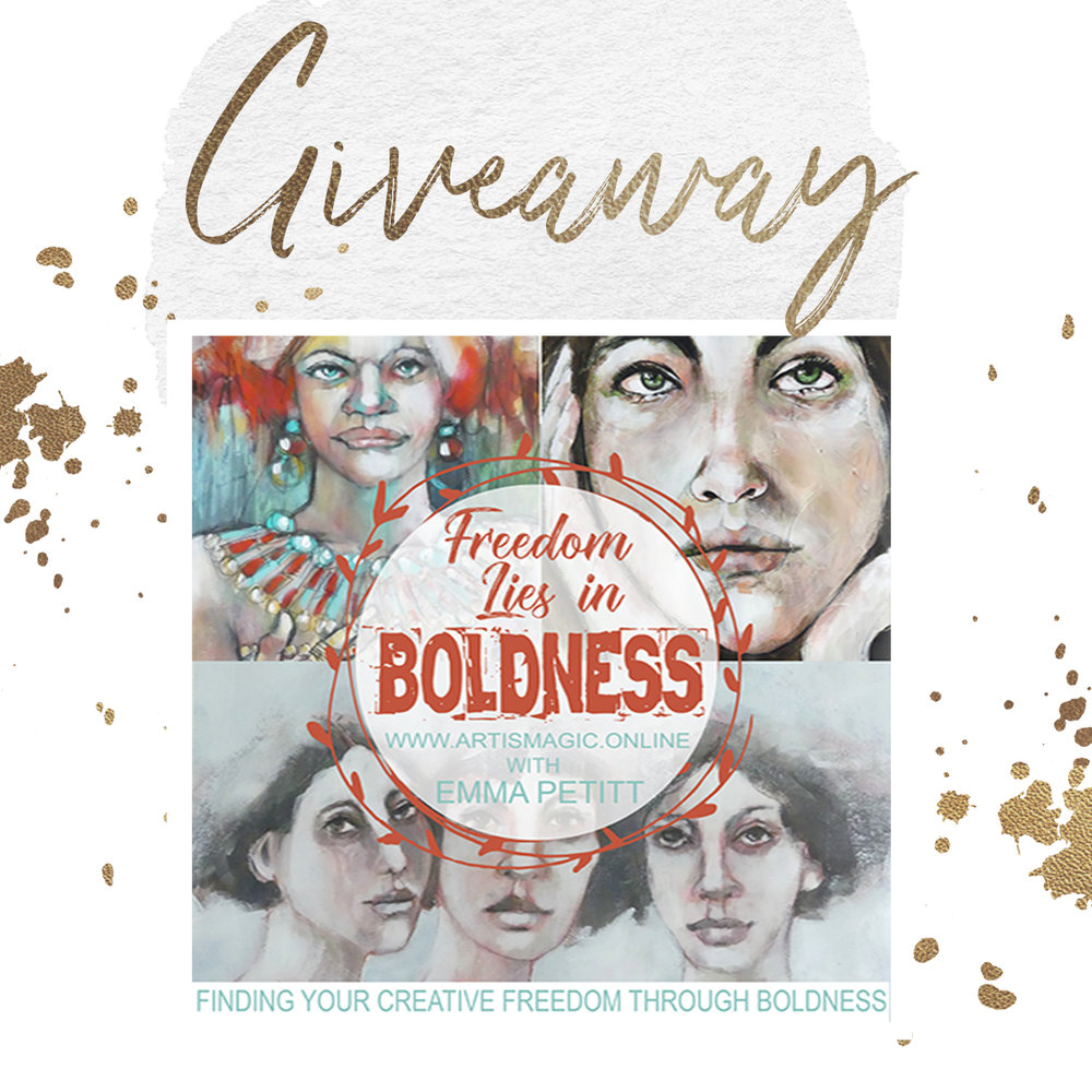 Boldness Giveaway with Emma Petitt