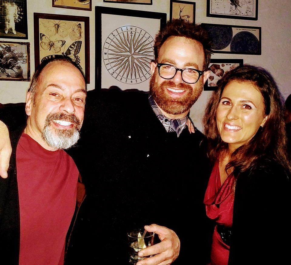 Tony, Paul Adelstein, and Cassandra