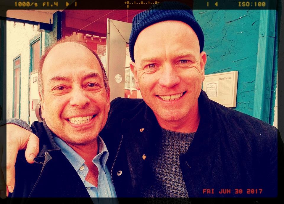 Tony and Ewan McGregor -