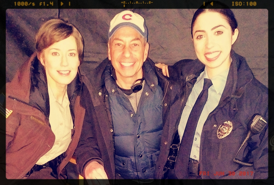 Carrie Coon, Tony, and Olivia Sandoval -