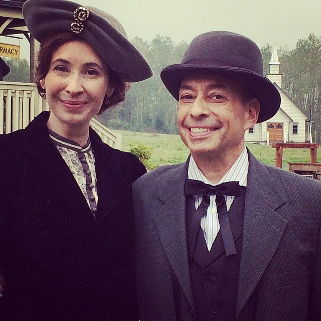 A fun role in the New Year's episode of When Calls The Heart, with Loretta Walsh.
