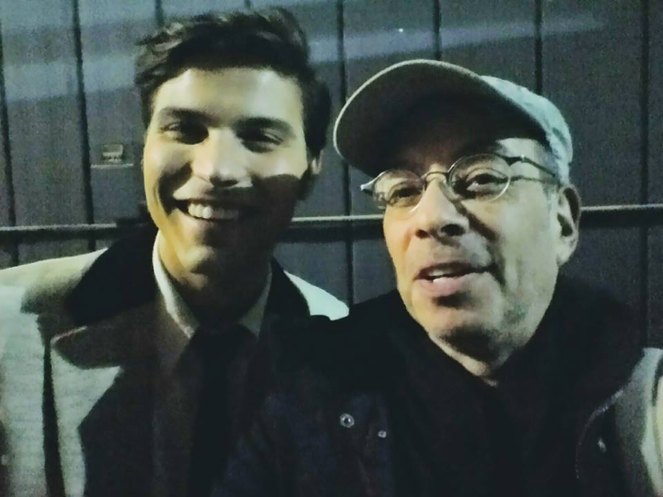 Luke Bilyk and Tony