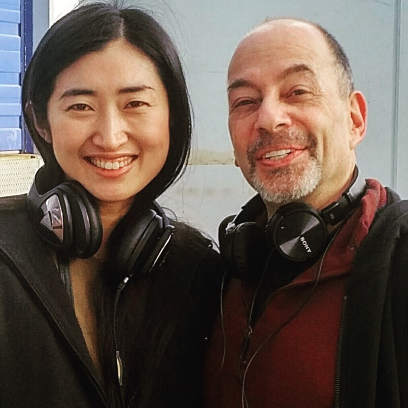 Tony and former student Yuki Morito