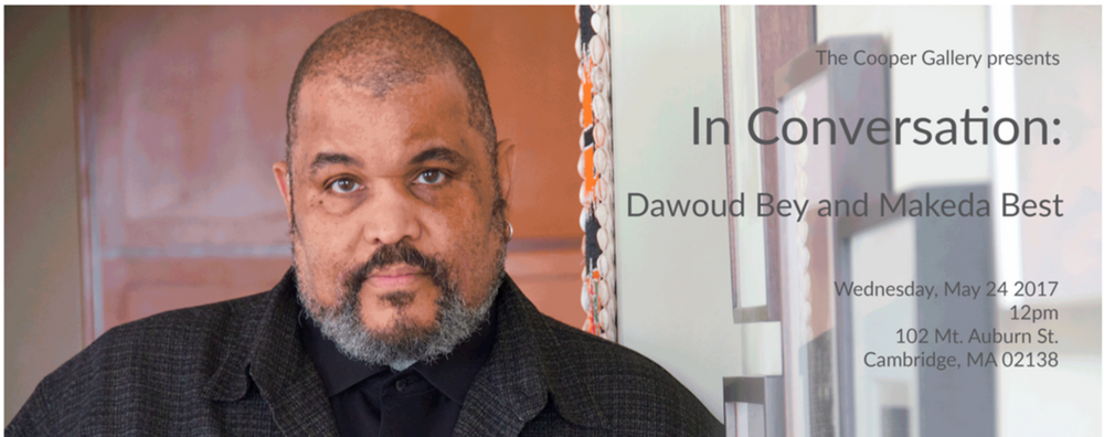 May 24 2017    In Conversation with Dawoud Bey