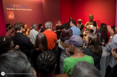 THe opening reception of wole soyinka: antiquities across times and place, fall 2017