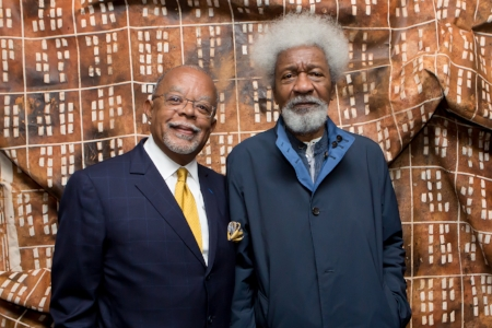 Henry Louis Gates Jr. and Wole Soyinka  Photo Credit: Melissa Blackall