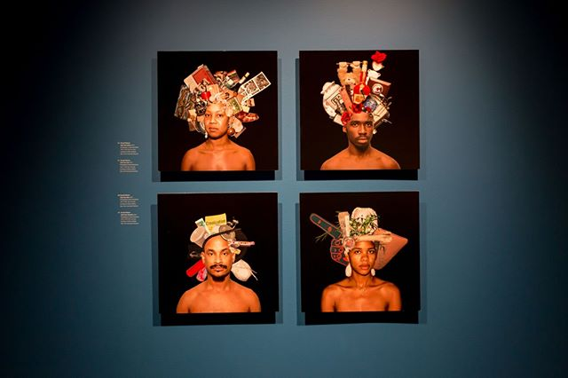 In preparation for our upcoming show on Gordon Parks, we remember last years spring show, ReSignifications. Both of these exhibits showcase the themes of identity and race through photography. This particular series of photographs, titled Head Cases, were taken by Russell Watson with the collaboration of the subjects who picked bits and pieces of their identities that weigh on their minds. Watson's masterful representation of identity is a celebration of what makes us come alive.