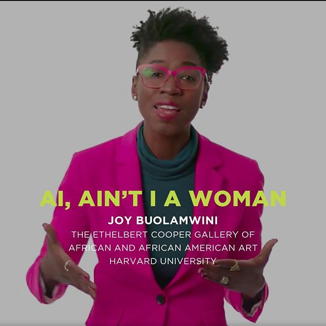 The Cooper Gallery would like to congratulate Joy Buolamwini for winning the HUBweek award for Best in Art, Science, and Tech! Her winning piece, AI, Ain't I a Woman was featured in our Fall show, Nine Moments for Now. Congratulations Joy!