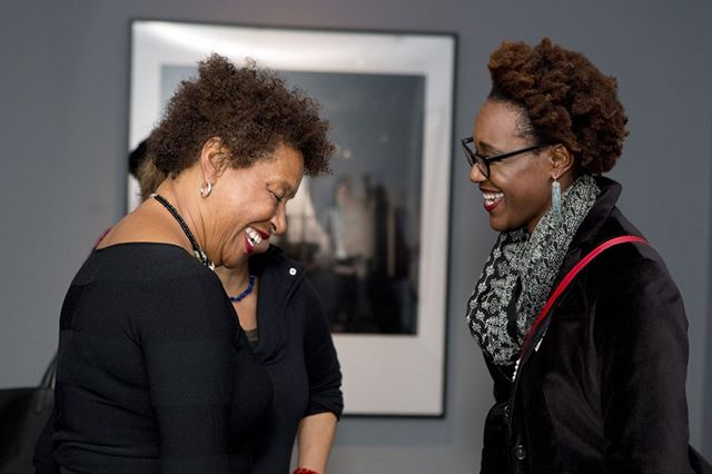 "The Cooper Gallery would like to wish a very happy birthday to Carrie Mae Weems! The Gallery showcased her photographs during our Fall 2016 show, ""I Once Knew A Girl."" We hope that this next year brings a great adventure Carrie's way!  @carriemaeweems View images from her exhibition at the Gallery here: https://buff.ly/2VCuvNY."