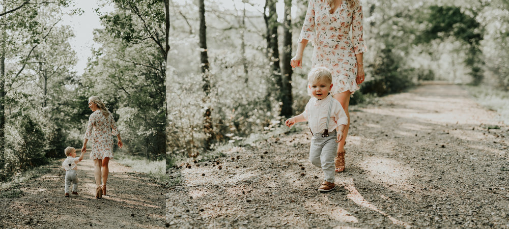 Boho themed Mommy and Me session located in Baton Rouge, Louisiana photographed by Magnolia and Grace Photography for Mothers Day
