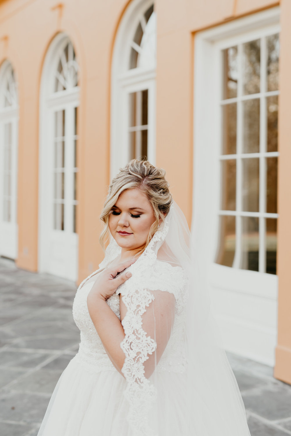 Bridal Session in City Park and New Orleans Botanical Garden in Louisiana. Photographed by Baton Rouge Wedding Photographer, Magnolia and Grace Photography.