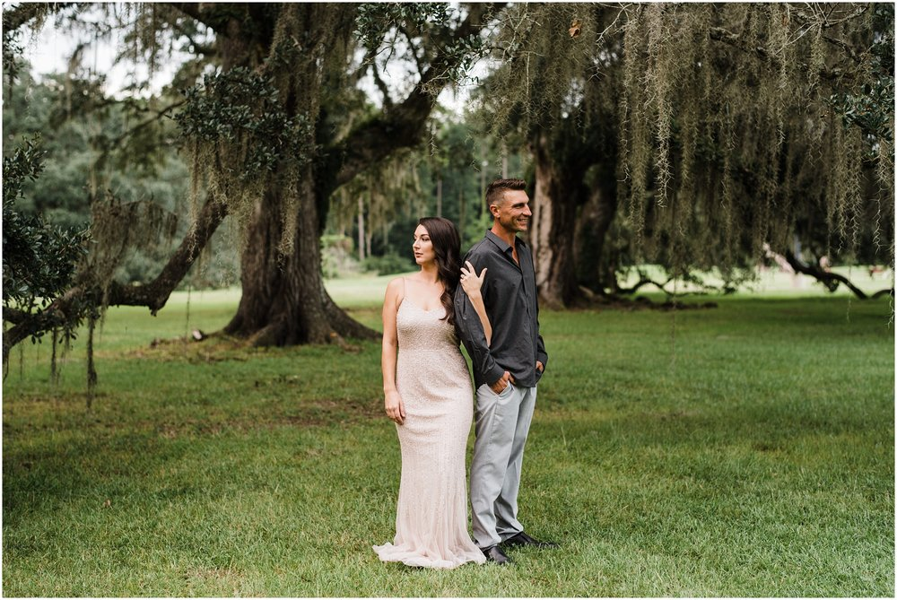 A Wedding Elopement under Oak Trees photographed by Taylor Hubbs Photography located in Baton Rouge, Louisiana. Taylor Hubbs Photography is a Lifestyle Family, Children, and Wedding Photographer that services southern Louisiana.