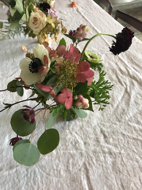 urban flower arrangement decor