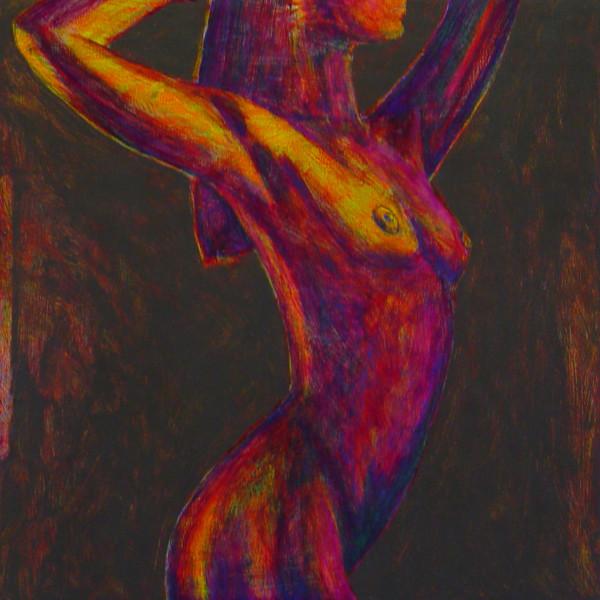 Woman Becoming a Mermaid