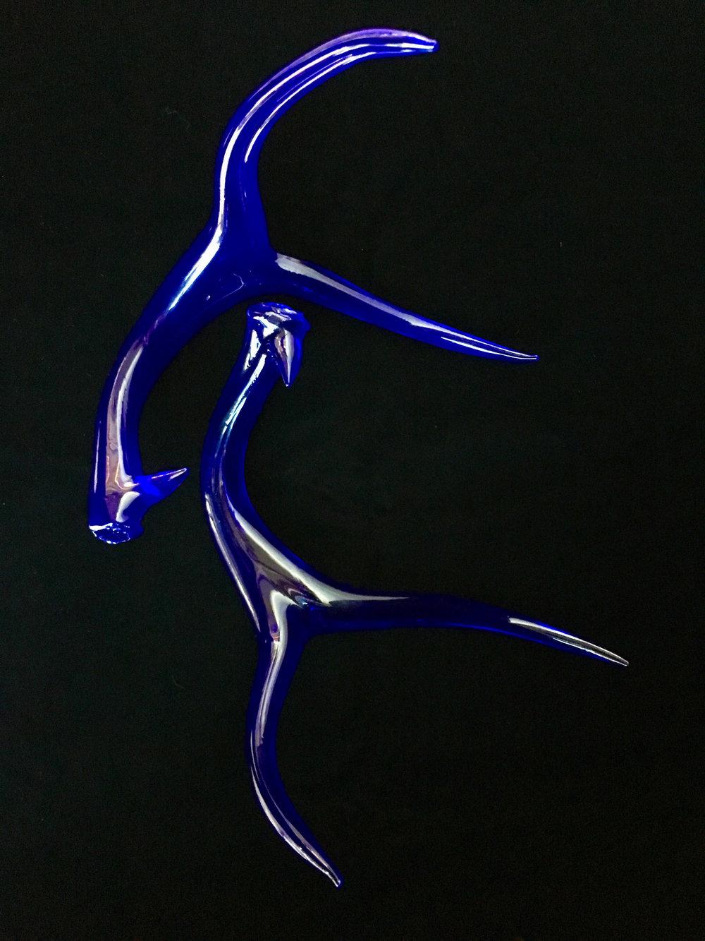 Dark Blue Antlers