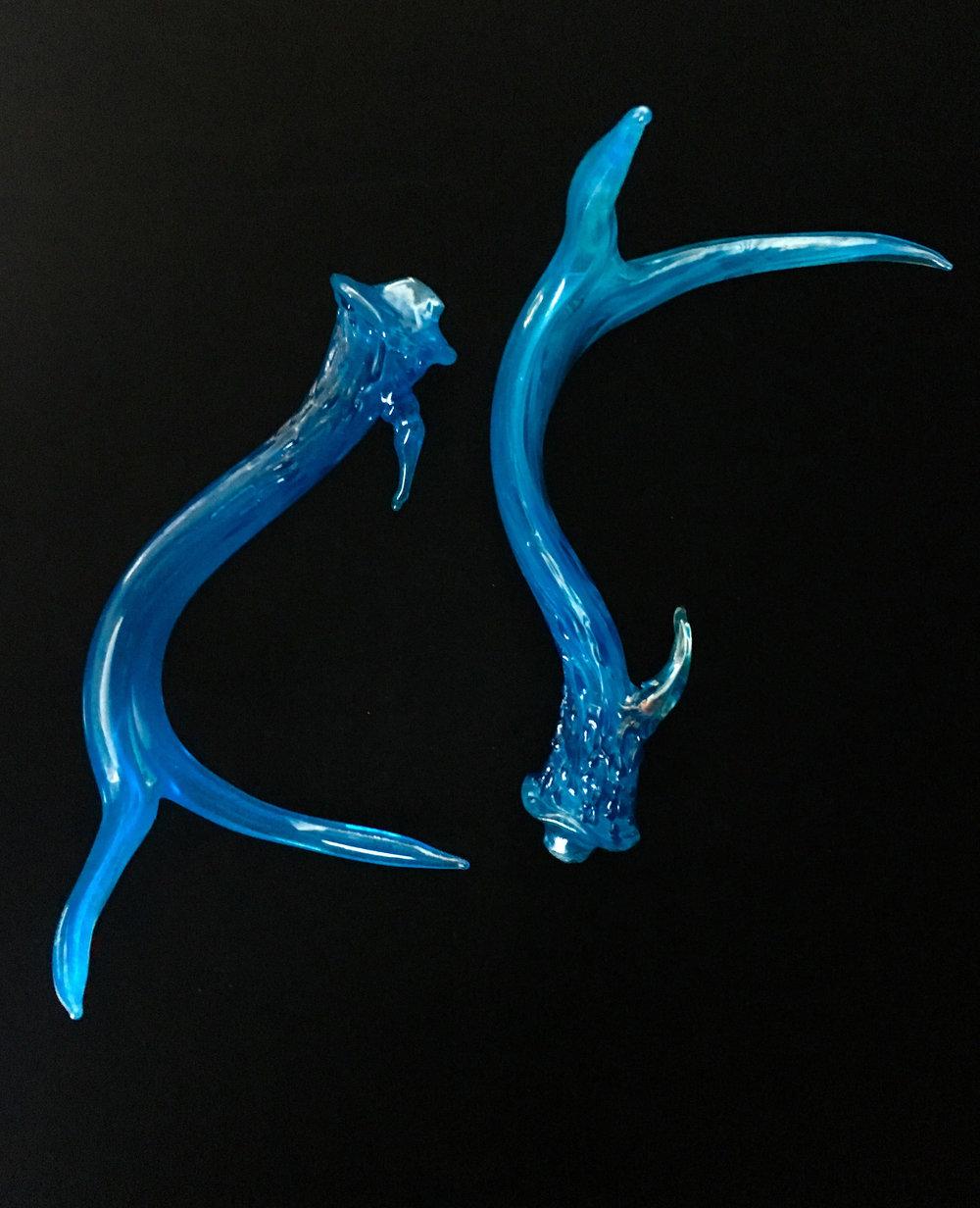 Sea Blue Antlers
