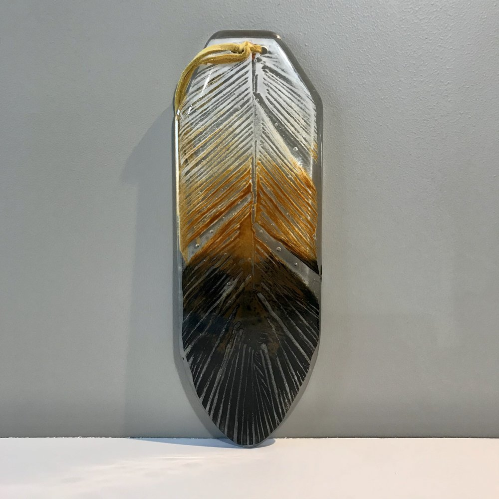 Glass Eagle Feather